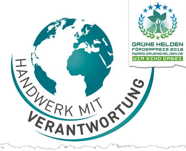 Initiative Handwerk mit Verantwortung | Grüne Helden Förderpreis